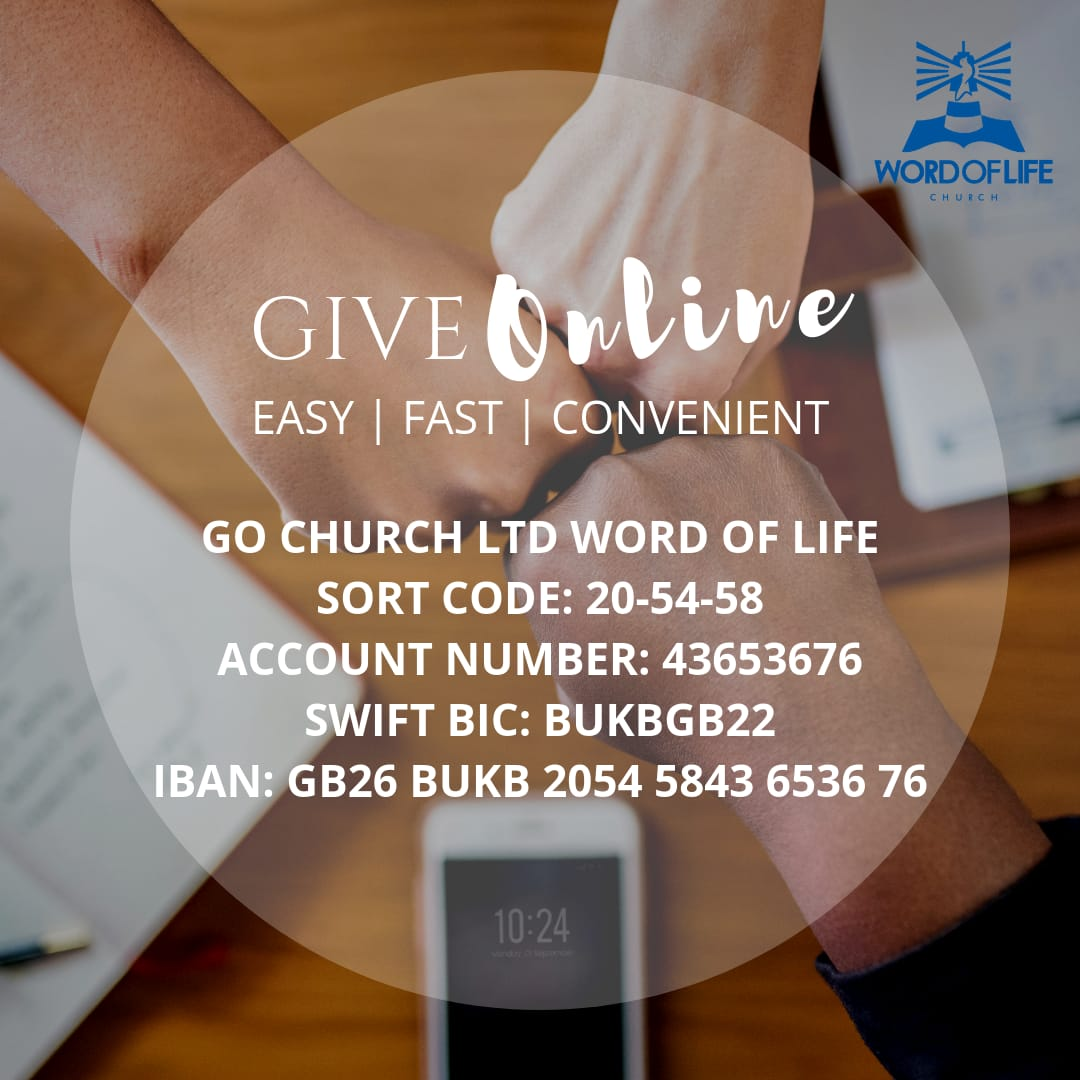 Word of Life Church London - Just Giving