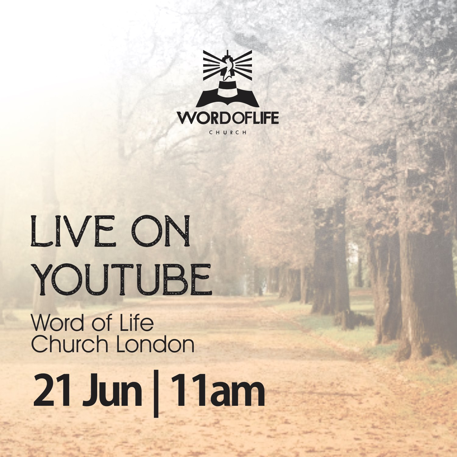 Word of Life Church London - Sunday Service Invitation Join Us On Youtube